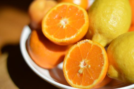 oranges keep your eyes healthy